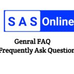 Sas Online Frequently Asked Questions