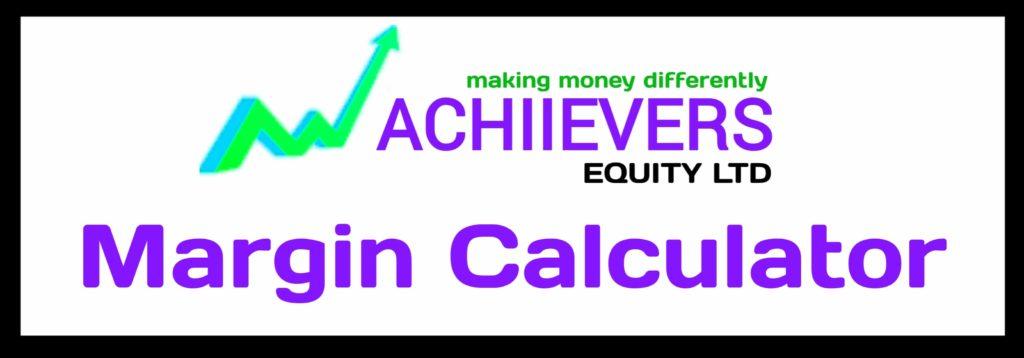 Achiievers Margin Calculator Online