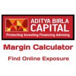 Aditya Birla Capital Margin Calculator