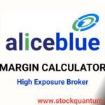 Aliceblue margin calculator