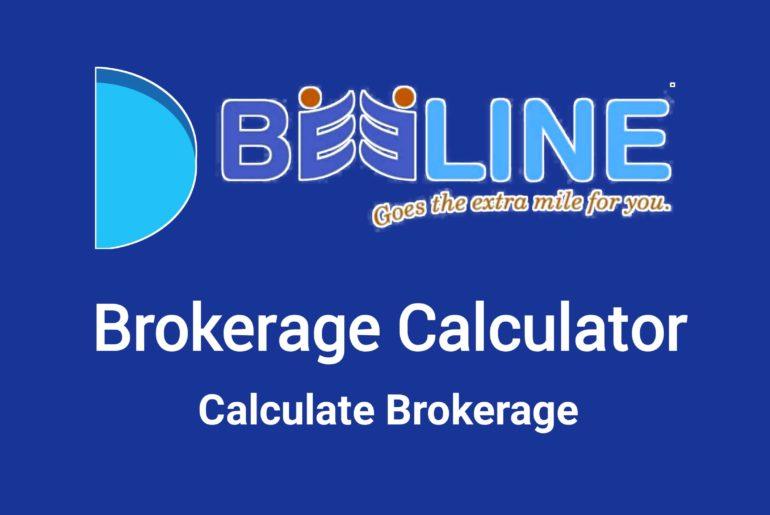 Beeline Brokerage Calculator