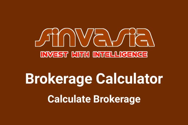 Finvasia Brokerage Calculator