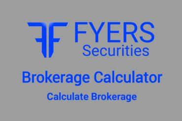 Fyers Brokerage Calculator