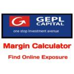 GEPL Capital Margin Calculator
