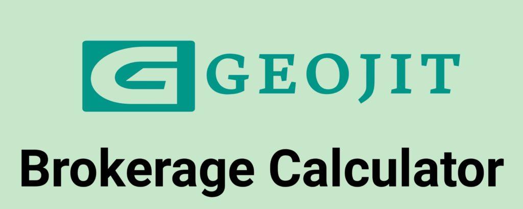 Geojit Brokerage Calculator Online