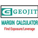 Geojit Margin calculator