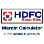 HDFC Margin Calculator