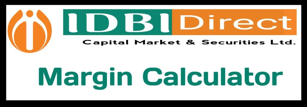 IDBI Direct Capital Margin Calculator Online