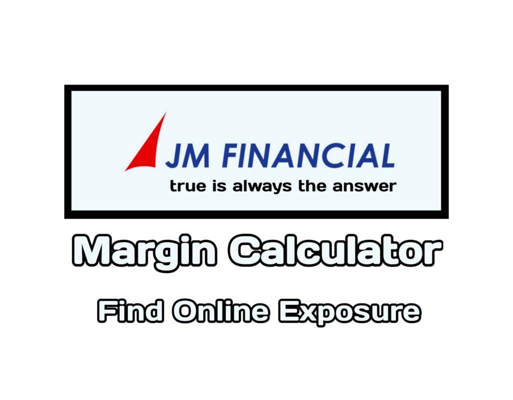JM Financial Margin Calculator