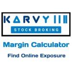 Karvy Margin Calculator