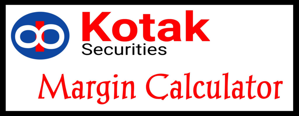Kotak securities margin calculator online