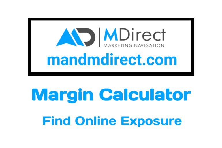 Mdirect Margin Calculator