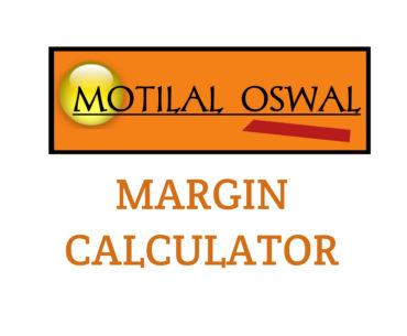 Motilal oswal margin calculator
