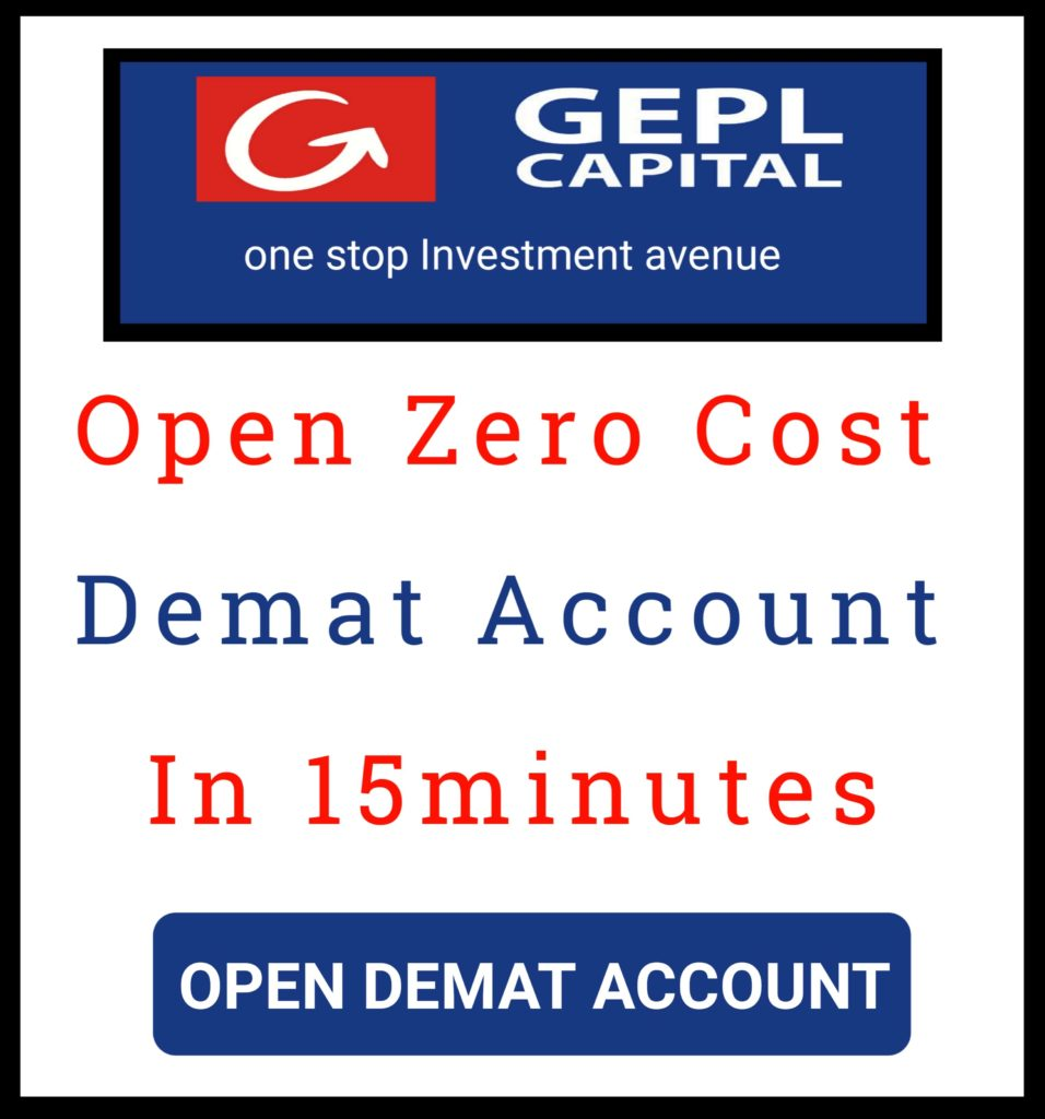 Open Demat Account With GEPL Capital