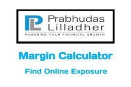 Prabhudas Lilladher Margin Calculator