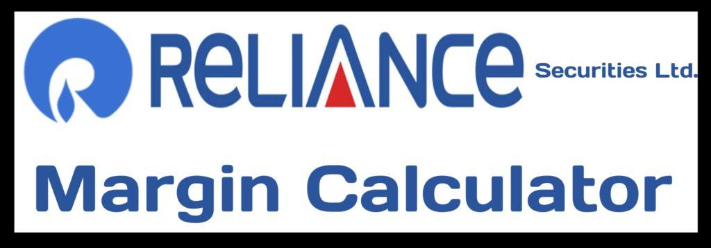 Reliance Securities Margin Calculator Online