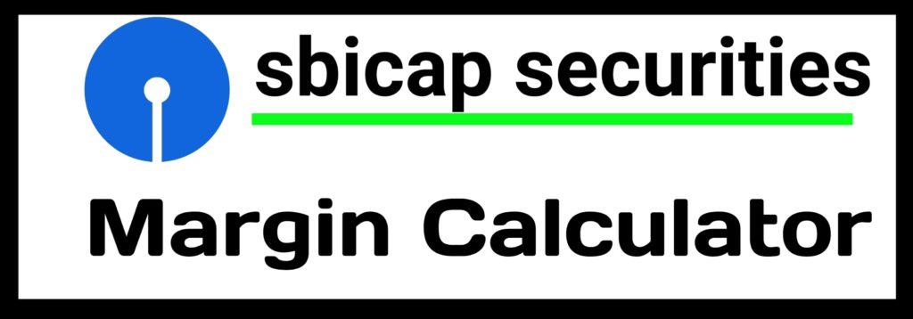 SBIcap Securities Margin Calculator Online