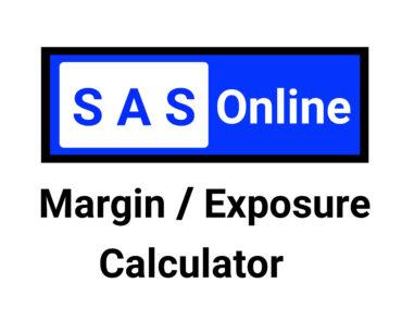 Sas Online Margin Calculator