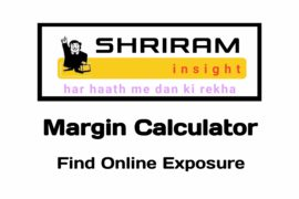 Shriram insight Margin Calculator