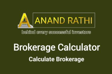 Anand Rathi Brokerage Calculator