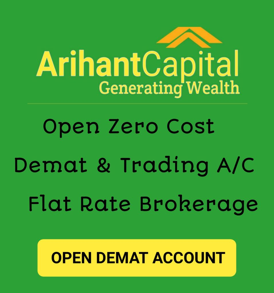 Demat Account Opening With Arihant Capital