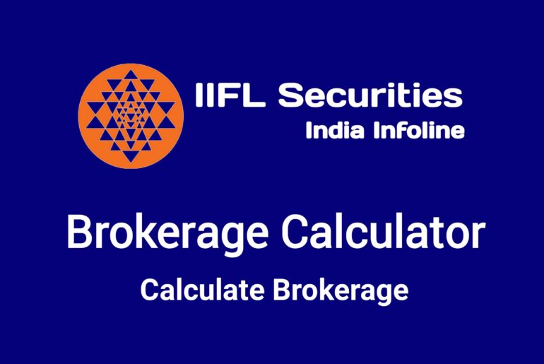 IIFL Brokerage Calculator