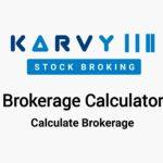 Karvy Brokerage Calculator
