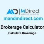 Mdirect Capital Brokerage Calculator
