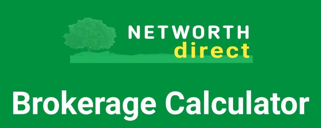 Networth Brokerage Calculator Online