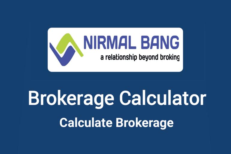 Nirmal Bang Brokerage Calculator