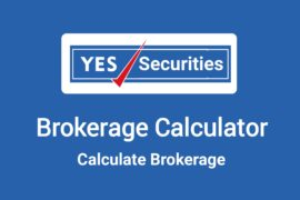 Yes Securities Brokerage Calculator