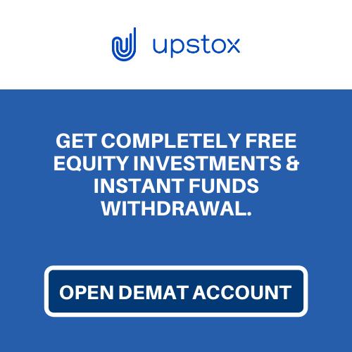 open Upstox Demat Account