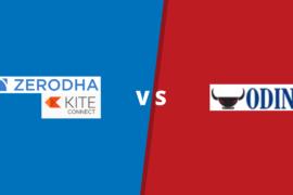 Zerodha Kite VS ODIN