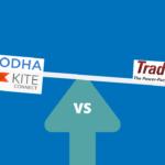 Zerodha Kite vs. ICICI Trade Racer
