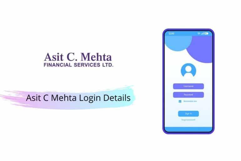Asit C Mehta Login Details