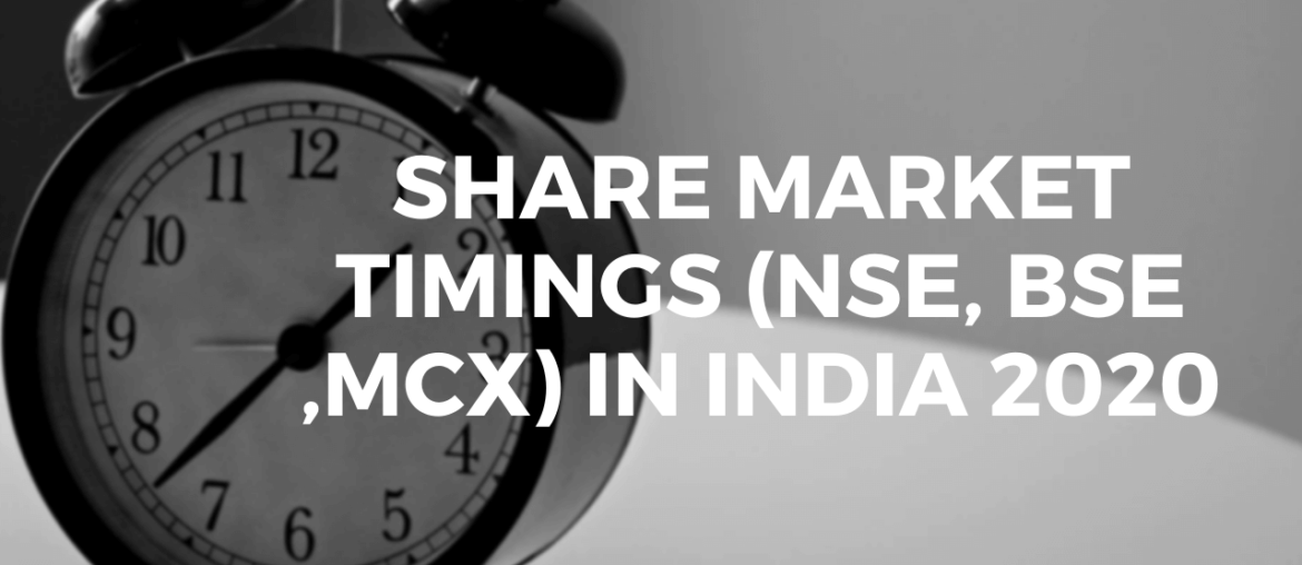 Share Market Timings