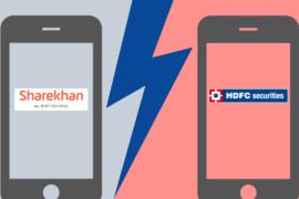 Sharekhan Vs HDFC Securities
