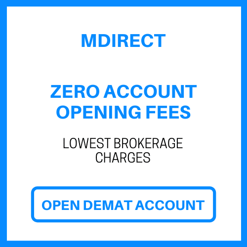 open mdirect demat acc