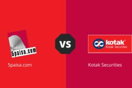 5Paisa Vs Kotak Securities compare