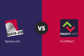 5Paisa Vs Profit Mart compare