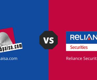 5Paisa Vs Reliance Securities compare