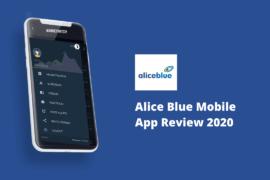 Alice Blue Mobile App
