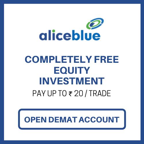 Open Alice Blue Online Demat Account