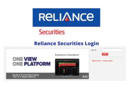 Reliance Securities Login