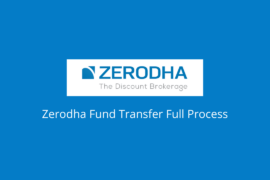 Zerodha Fund Transfer process