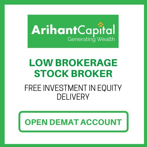 open Arihant Capital demat account