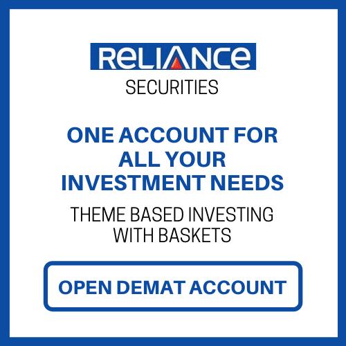 open Reliance Securities demat account