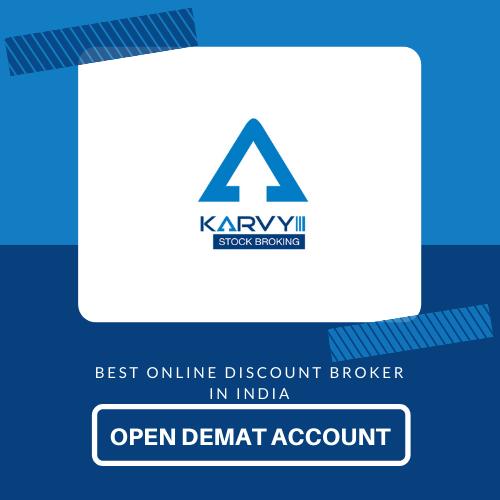Open Demat Account with Karvy