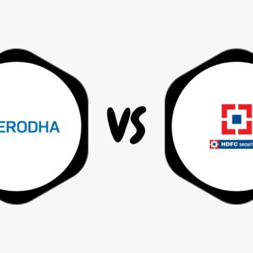 Zerodha Vs HDFC Securities – Compare Best Discount & Full Service Broker
