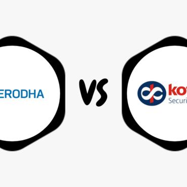 Zerodha Vs Kotak Securities – Compare Best Discount & Full Service Broker